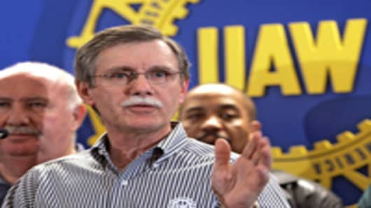 Ron Gettelfinger, United Auto Workers President