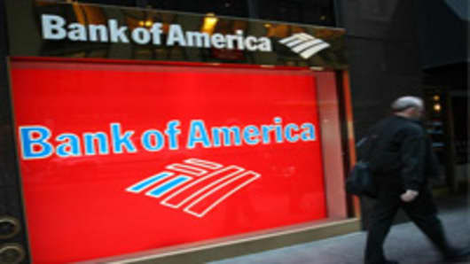 Bank of America branch, New York City.