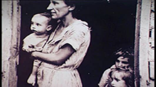 Great Depression family.