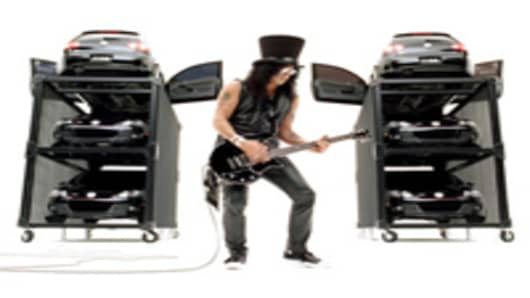 Volkswagon Ad featuring Slash.