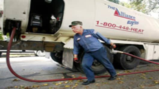 Heating Oil Delivery Truck