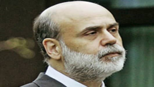 Federal Reserve Bank Chairman Ben Bernanke.
