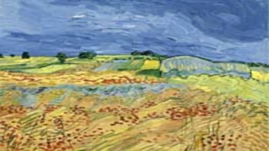 """The Fields (Wheat Fields),"" by Vincent van Gogh"
