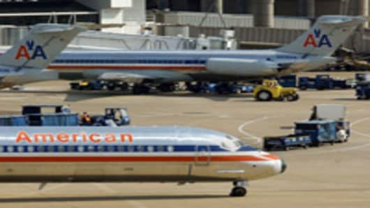 American Airlines aircrafts.