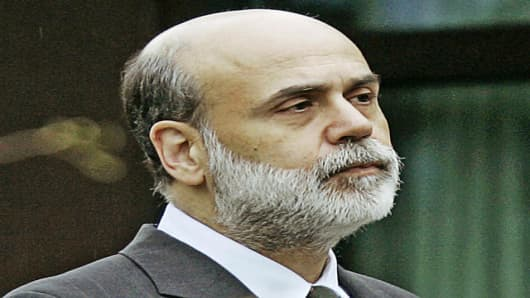 Federal Reserve Bank Chairman Ben Bernanke