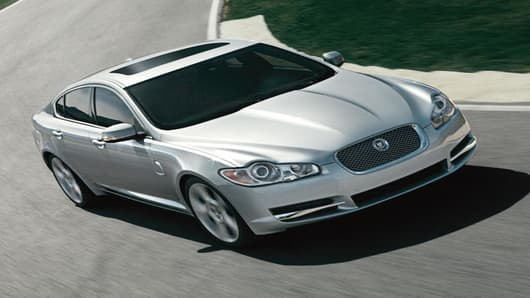 All-New 2009 Jaguar XF. (PRNewsFoto/Jaguar)