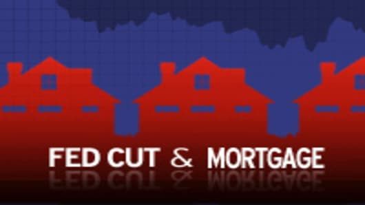 Fed Cut and Mortgage