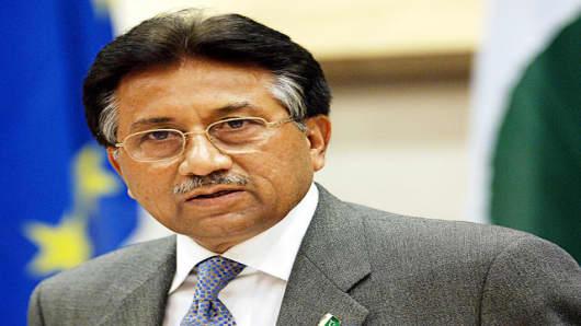 Pakistan President Pervez Musharraf.