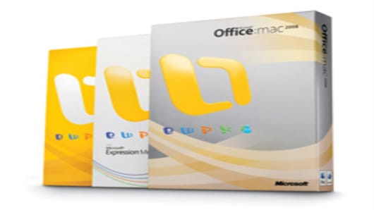 Office 2008 for Mac.