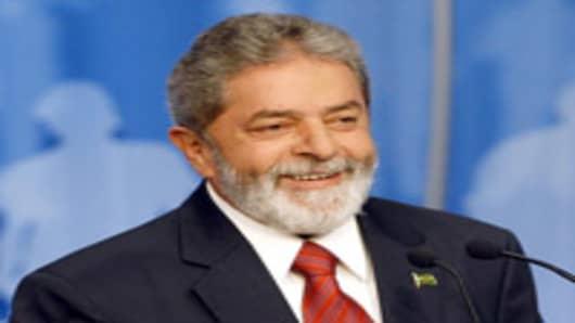 Brazil's President Luiz Inacio Lula da Silva.