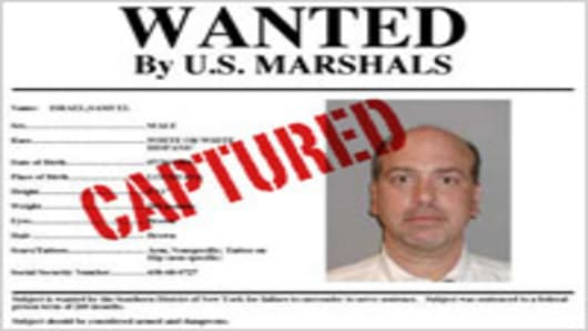 Sam Israel WANTED poster, Captured