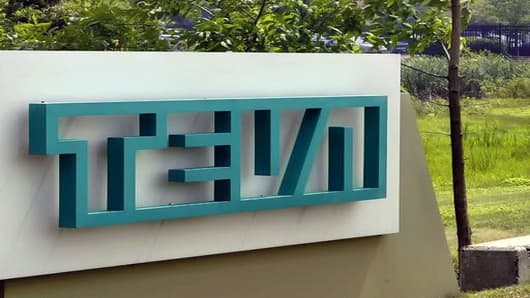 The Horsham, Pa., offices of Teva Pharmaceuticals North America are shown Monday, July 25, 2005.   In a deal that will create the world's largest generic drug company, Teva Pharmaceutical Industries Ltd. said Monday it is acquiring rival Ivax Corp. for about $7.4 billion (6.13 billion euros) in cash and stock. Ivax shares climbed 10 percent in morning trading.  (AP Photo/George Widman)