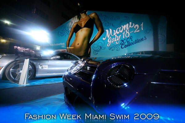 Mercedes-Benz Fashion Week Swim is presented annually in Miami Beach, Florida, at The Raleigh Hotel. Coinciding with the swimwear industry's largest trade show, the invitation only event provides a runway platform for designers' swimwear and resort collections with exposure to national and international media, style setters and fashionistas.
