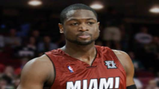 Dwyane Wade, Miami Heat guard.