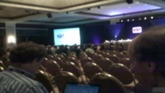 Empty seats at Yahoo shareholder meeting.