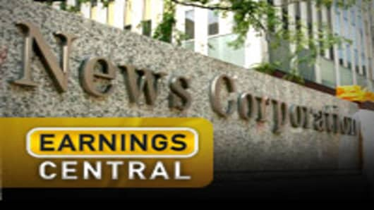 News Corp Earnings