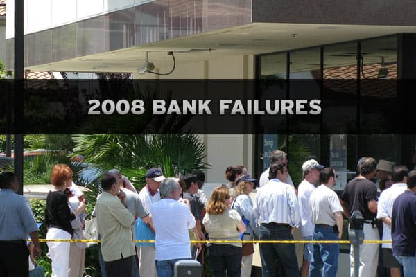 Since the beginning of the credit crunch in August, 2007, a total of 14 banks have closed their doors, according to the Federal Deposit Insurance Corporation. This year alone, 12 banks have gone under. Take a look at the failures of 2008 (in chronological order), as measured by total assets and the cost to the FDIC's deposit insurance fund, aka taxpayers. >>