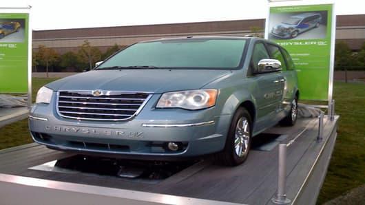 Chrysler minivan EV