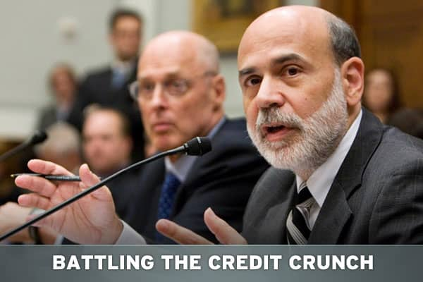 For more than a year now, the credit crunch has whipsawed financial markets, reshaped the financial services industry and taken a big bite out of US economic growth. The US government has taken a number of dramatic steps--both conventional and extraordinary -- to try to remedy the problem. Take a look at what was done.