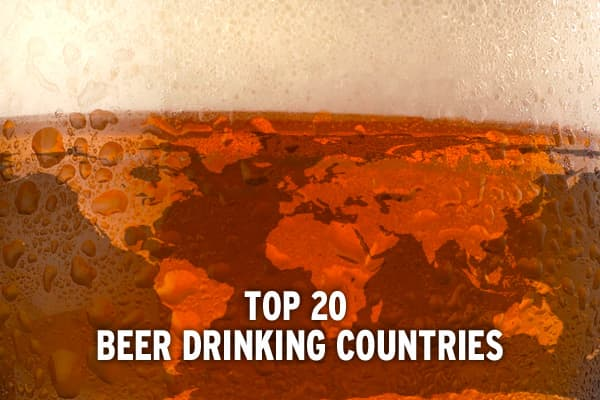 Even in times of global financial downturn, you can be sure of one thing people will continue to buy and consume: beer. It would take more than rising commodity costs and plummeting stocks to quench the hardy revelers of these 20 nations. (Ranked per capita.)
