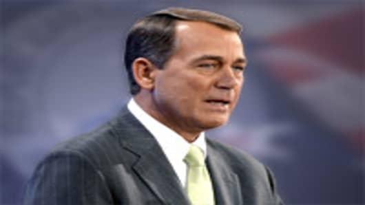 Republican Representative John Boehner