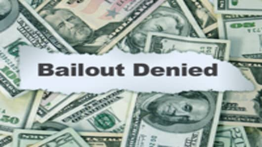 Bailout Denied