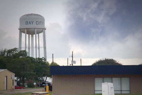 Bay City, Texas is home to 18-thousand residents and two nuclear power plants.  The town is booming.  The plants bring in jobs and tax revenues. Officials here hope more plants will be built in the area.