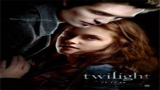 Twilight Movie poster by Summit Entertainment.