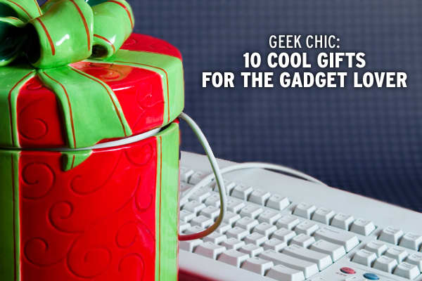 Looking for that perfect gift for the gadget lover who has everything? We dug past the piles of iPhones and Wii consoles to come up with 10 of the coolest gadgets this holiday season, from a solar-paneled laptop bag to a touch-screen universal remote. Click through the slideshow to check out these 10 gadget gift ideas for someone on your list -- or yourself!