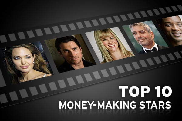 Hollywood stars get paid tens of millions to appear in a feature film, so producers want a healthy return on their investment. But do these actors and actresses draw audiences themselves or is it a combination of factors in creating box office gold? Every year since 1932,  has surveyed theater owners and film buyers to get their take on which Hollywood names draw the most people to the theaters. Although no single star can be considered completely responsible for a film's box office success, the