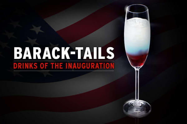 In the days leading to the inauguration of Barack Obama as the 44th President of the United States, the buzz is building about the inaugural balls. And what's a party without a few cocktails?  Here's a sampling of the special cocktails being served at the celebrations, along with their recipes.