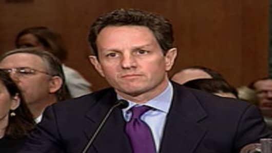 Treasury Secretary Timothy Geithner