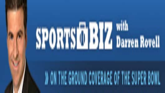 Sports Biz with Darren Rovell -- On the Ground Coverage of the Super Bowl