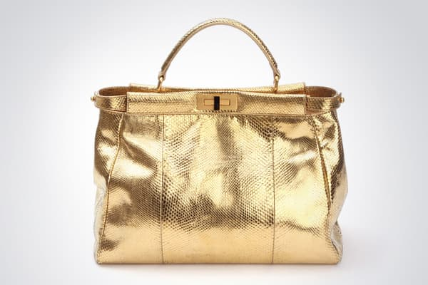 : $36,000This bag, from , is a python frame bag that has been dipped in 24-carat gold. »