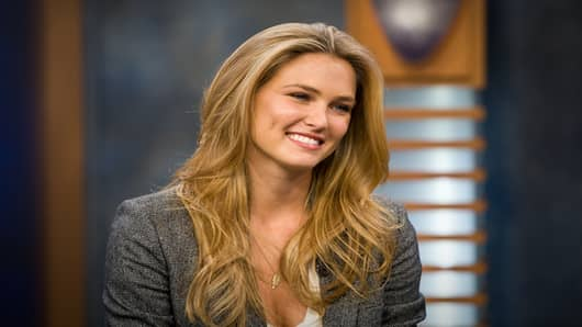 Sports Illustrated cover model Bar Refaeli.