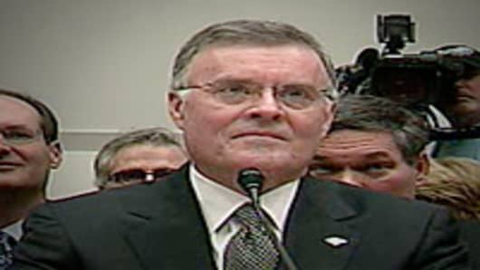 Ken Lewis testifying before House Financial Services Committee
