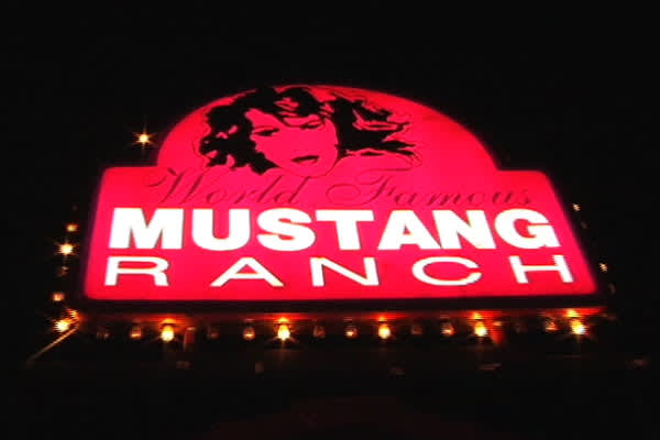 The Mustang Ranch where sex is always for sale. Under Nevada state law, certain counties are allowed to license and regulate brothels. It's a booming $50 million business.