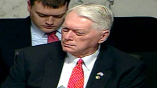 Senator Jim Bunning of Kentucky