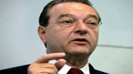 CEO Oswald Gruebel of UBS