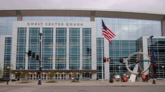 Omaha's Qwest Center, site of Berkshire Hathaway's annual shareholders meeting
