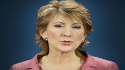 Carly Fiorina, former Hewlett-Packard CEO.