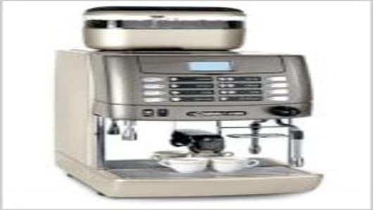 M1 MilkPS coffee machine.