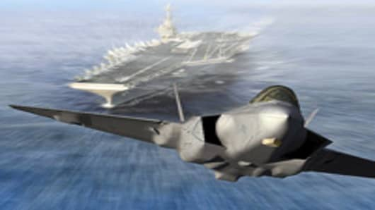 Joint Strike Fighter F-35 from Lockheed Martin.