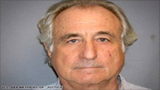 Bernie Madoff mugshot