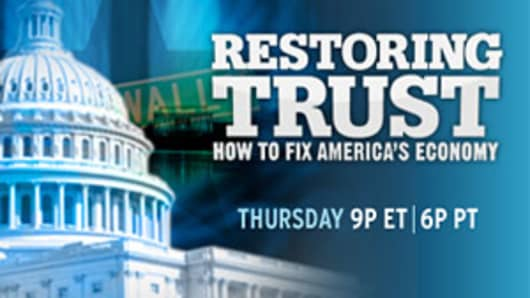 Restoring Trust: How to Fix America's Economy