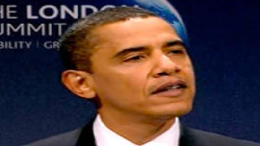President Obama speaking at G20 meeting