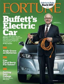 Fortune Puts Warren Buffett In Car Of The Future Driver S Seat
