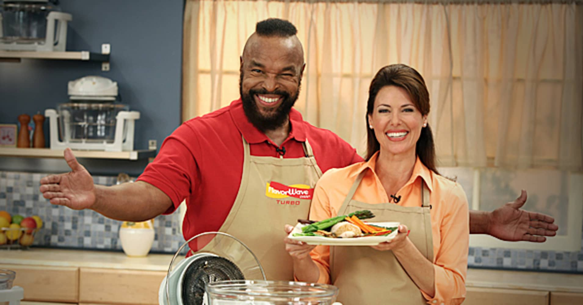 "Finding the right face to promote a product is key and securing a celebrity endorsement can pack the necessary punch.  In 2008, Mr. T, from the popular TV show ""The A Team,"" stood behind Thane's ""Flavor Wave Oven,"" which promoted a new generation of cooking.   Mr. T:   ""My taste buds have gone wild…I love it when a plan comes together!"""