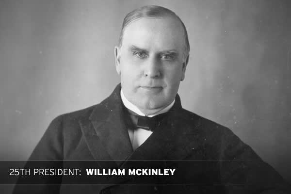First Term:3/3/1897 42.13 6/11/1897 42.54 Second Term:3/2/1901 67.67 6/11/1901 76.11 * (McKinley was assassinated during his second term)