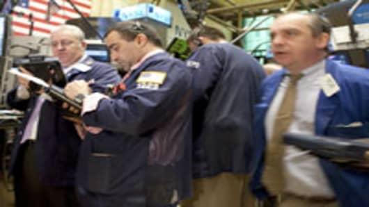 NYSE traders.